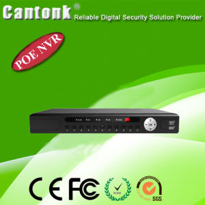 H. 265 8CH CCTV Network Video Recorder NVR with Poe (CK-T9308POE) pictures & photos
