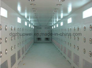 Good Auto Sliding Door Cargo/Person Air Shower pictures & photos