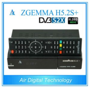 Worldwide Multistream Decoder Zgemma H5.2s Plus Linux OS Sat/Cable Receiver DVB-S2+DVB-S2X/T2/C Triple Tuners pictures & photos
