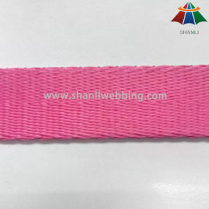 2cm Pink Thickened Herringbone Polyester Webbing for Pet Collar and Leash pictures & photos
