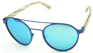 FM17514 High Quality Stainless Steel Sunglasses Mirror Sunglass pictures & photos