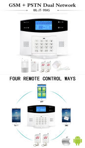 Ios/Android APP Controlled Wireless Home Burglar Security PSTN GSM Alarm System pictures & photos