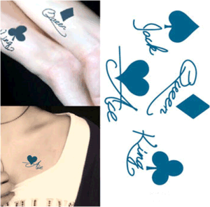 Fashionable Waterproof Temporary Tattoo Sticker Art Tattoo pictures & photos