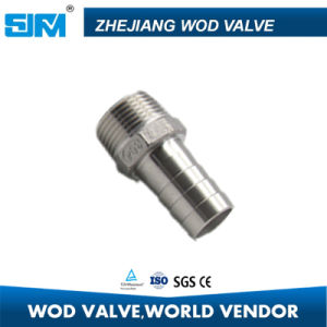 Ss304 Ss316 Industrial Equipment /Components Pipe Fitting Ss Hose Nipple pictures & photos