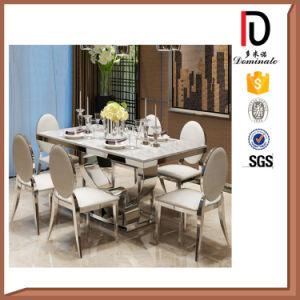 Guangzhou Popular Stainless Steel Dining Resturant Chair pictures & photos