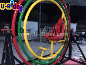 Double Round Sport Powerball, Amusement 3D space ring human gyroscope pictures & photos
