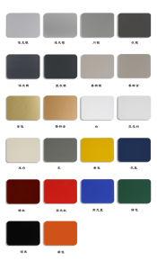 Aluis Exterior 3mm Aluminium Composite Panel-0.40mm Aluminium Skin Thickness of PVDF Silver Metallic pictures & photos