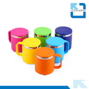Straight Anti-Hot and Durable Stainless Steel Milk Cup & Water Cup for Kids pictures & photos