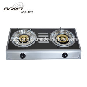 2017 Colorful Steel High Quality 2 Burner Gas Stove