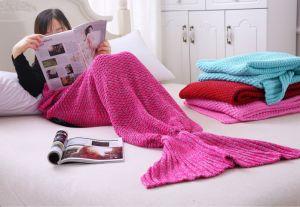 Fashion Fish Blanket Mermaid Tail Blanket Blanket Mermaid pictures & photos