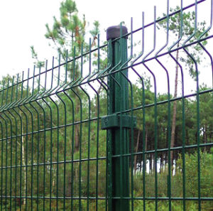 Vinly Coated Decorative Welded Garden Fence Panels pictures & photos