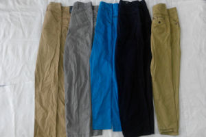 Low Price Cambodia Style Original Men Cotton Pants Second Hand Clothing in Bales pictures & photos