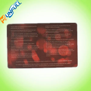 Perfect Printing Custom Transparent PVC Clear Plastic Card pictures & photos