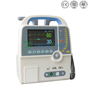 Hot Sel and Good Price Medical Portable Biphasic Defibrillator pictures & photos