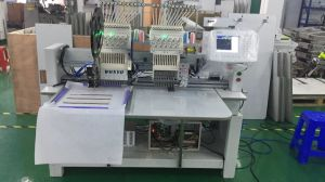 2 Head Hat Embroidery Machine for Cap T-Shirt Embroidery Machine pictures & photos