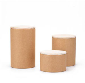 Professional Design Paper Tube Canisters Packaging Tea Canisters pictures & photos