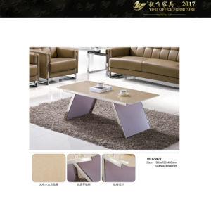 Glass Metal Coffee Table Unique Coffee Tables (YF-170087T)