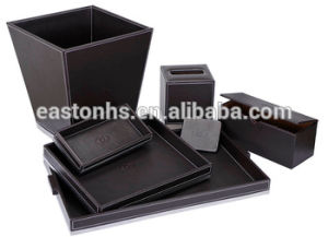Hot Selling Border Series Hotel Leather Amenities Leather Product pictures & photos