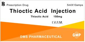 Lipoic Acid (Thioctic Acid) for Injection GMP Factory pictures & photos