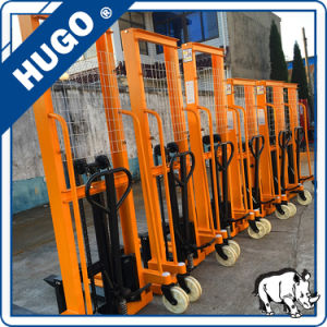 2ton 1.6m Manual Forklift Manual Pallet Stacker pictures & photos