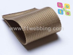 Fake Nylon Fine Grooved Webbing for Backpack Strap pictures & photos