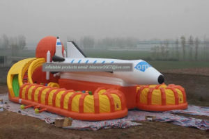 Big Inflatable Airplane Sports Games Playground for Sale pictures & photos