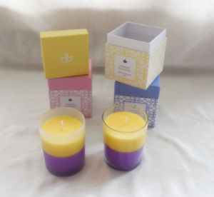Luxury Decorative High Quality Multi-Color Candle with Box