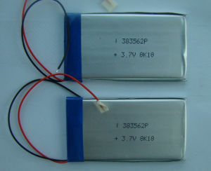 3.7V Li-ion Polymer Battery pictures & photos
