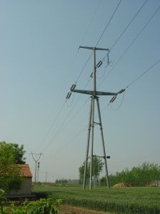 Production Durable Angle Steel Transmission Tower pictures & photos