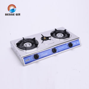 Stainless Steel Gas Stove, Three Burners. pictures & photos