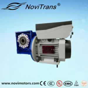 1.5kw Servo Transmission Speed Adjustment Motor with Decelerator (YVM-90C/D) pictures & photos
