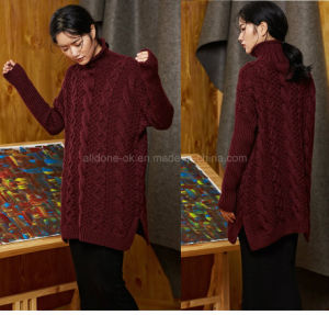 Custom Any High Quality New Design Style Hand Knit Sweater Cardign pictures & photos