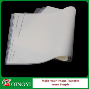 Qingyi Solvent Based Ink Pet Heat Transfer Film pictures & photos