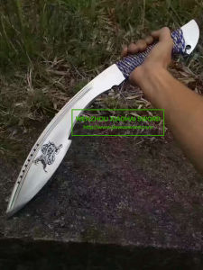 Handmade Machetes Sword Glaive Jungle Swords Kd001 pictures & photos