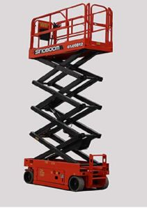 Hot Sale Gtjz0812 Scissor Lift with Max Working Height 10.1m pictures & photos