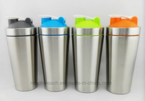700ml Stainless Steel Protein Shaker Cup (R-S078) pictures & photos