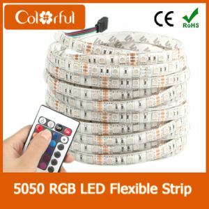 Ce/RoHS High Lumens DC12V SMD5050 LED Strip RGBW pictures & photos