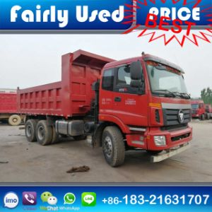 Used 6X4 Foton Auman Ext Dump Truck for Sale