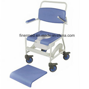 Multifuctional Folding Commode Shower Toilet Chair pictures & photos