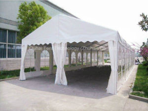 6m X 18m Small Party Tent with Clear PVC Windows