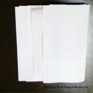 Stone Paper (RBD-400) Rich Mineral Board Double Coated-400um pictures & photos