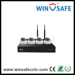 2.0MP IP Wireless Home Security Alarm System WiFi NVR Kits pictures & photos