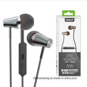 Trumpet Earphone Professional Stereo Earbuds Earphones for Smartphons pictures & photos
