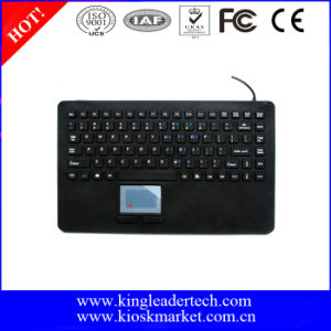 IP68 Super Slim Silicone Keyboard with Integrated Touchpad