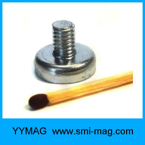 Neodymium Pot Magnet with External Threaded for Sale pictures & photos