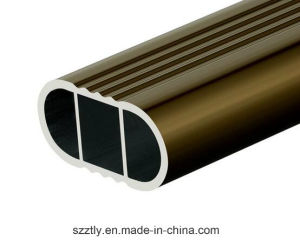 6063 Electrophoresis Champagne Aluminum Tube for Holders pictures & photos