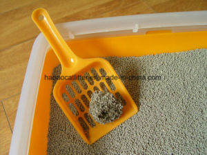 1-3.5mm Yellow Color Bentonite Cat Litter with Strong Clumping pictures & photos