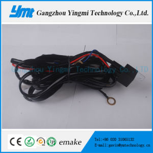 180W LED Light Bar Wire Harness with Relay, on/off Switch pictures & photos