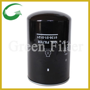 Oil Filter for Excavators (6136-51-5121) pictures & photos