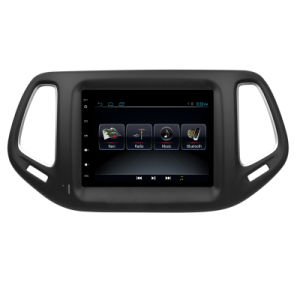 Android 5.1 for Jeep Compasser Vertical Huge Screen Car GPS with Bt Mirror Link RDS